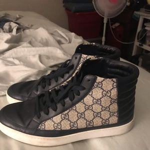 Men's Gucci High Top Sneakers